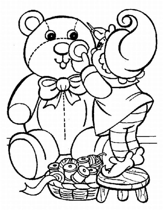 Holiday Coloring Pages For Kids  Christmas Kids Coloring Pages