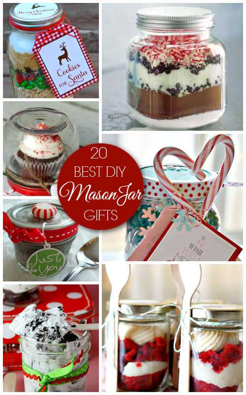 Holiday Crafts Gift Ideas  20 Best Mason Jar Gifts Christmas Gift Ideas A