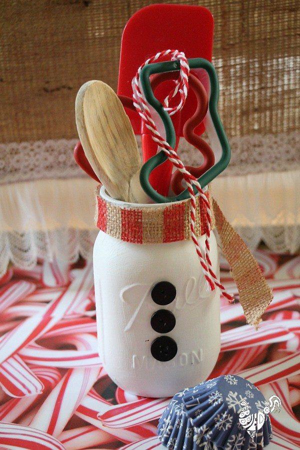 Holiday Crafts Gift Ideas  Christmas Mason Jar Gifts