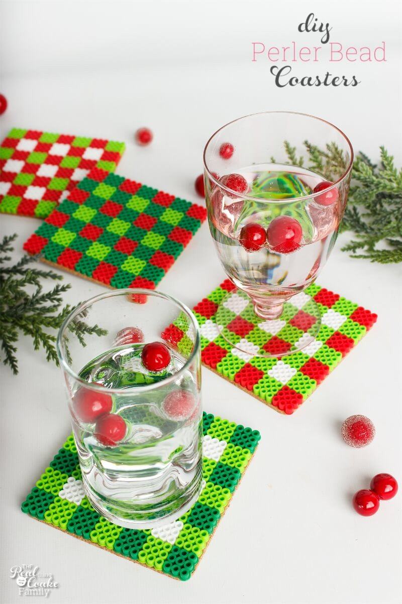 Holiday Crafts Gift Ideas  DIY Coasters A Cute Christmas Craft or Gift Idea