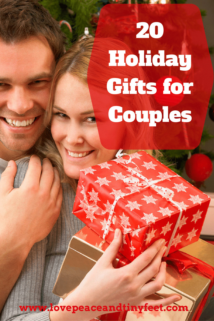 Best ideas about Holiday Gift Ideas Couples . Save or Pin 20 Gift Ideas for Couples Now.
