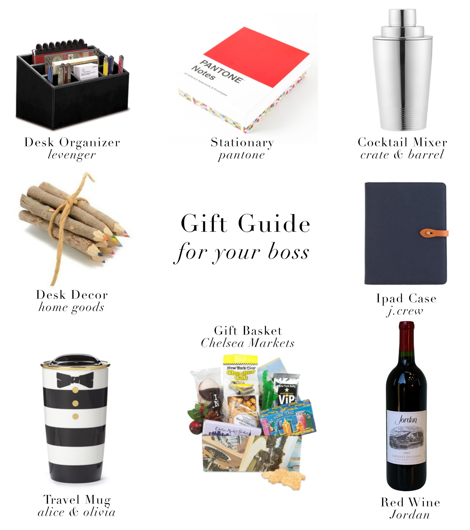 Best ideas about Holiday Gift Ideas For Bosses . Save or Pin Christmas Gift For Boss Now.