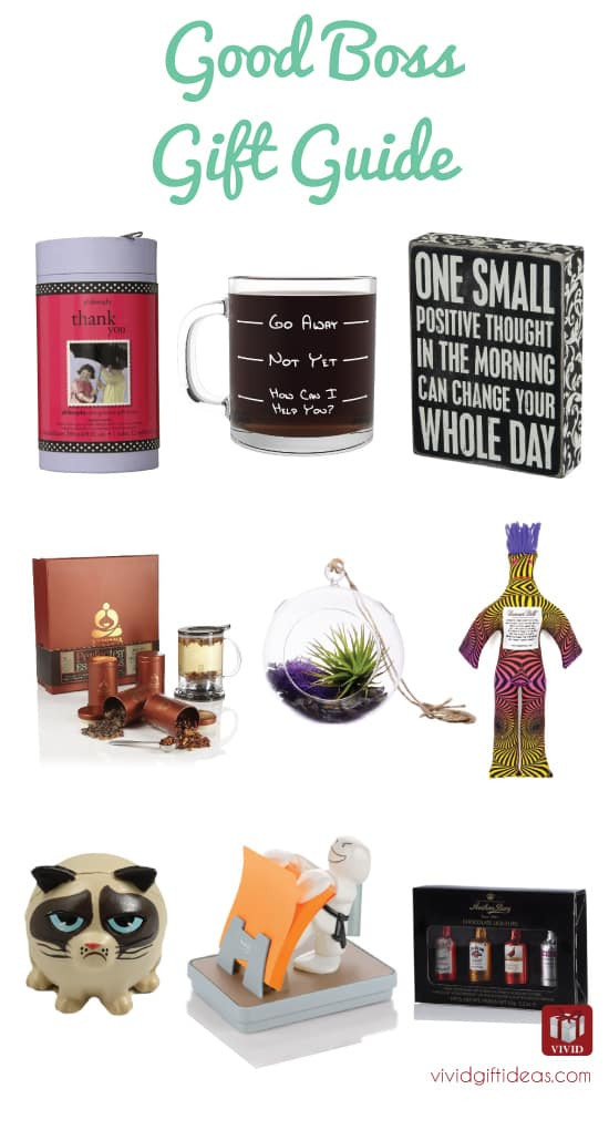 Best ideas about Holiday Gift Ideas For Bosses . Save or Pin List of 9 Good Gift Ideas for Boss Vivid s Now.