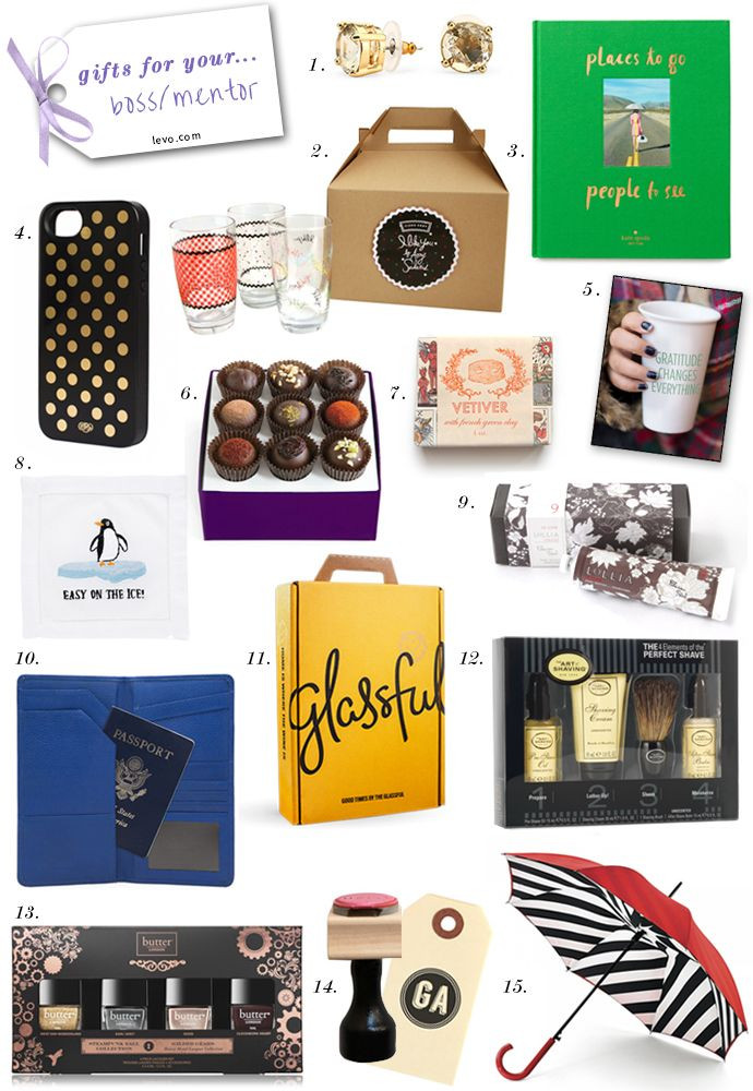 Best ideas about Holiday Gift Ideas For Bosses . Save or Pin 15 Holiday Gifts for Your Boss Now.