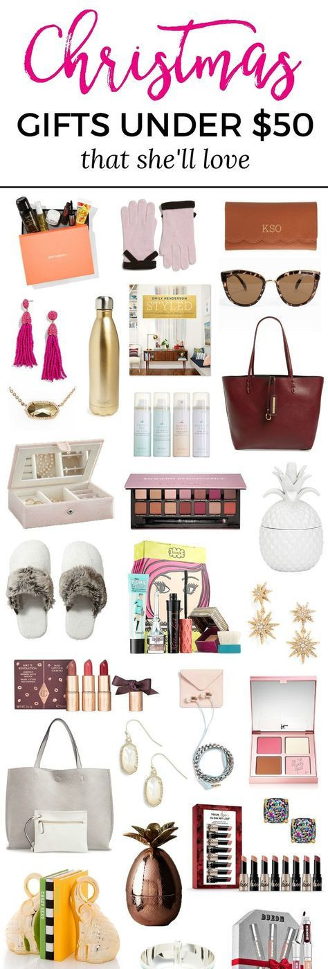 Holiday Gift Ideas For Woman  The Best Christmas Gift Ideas for Women under $50