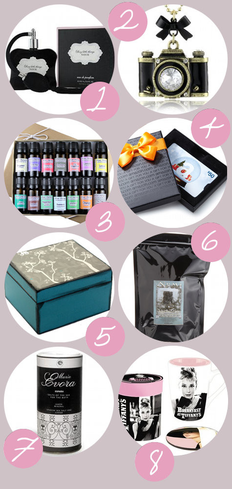 Holiday Gift Ideas For Woman  A Holiday Gift Guide for Her Gifts to Buy and Gifts to