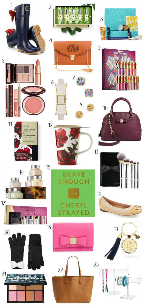 Holiday Gift Ideas For Woman  Christmas Gift Guide for Women