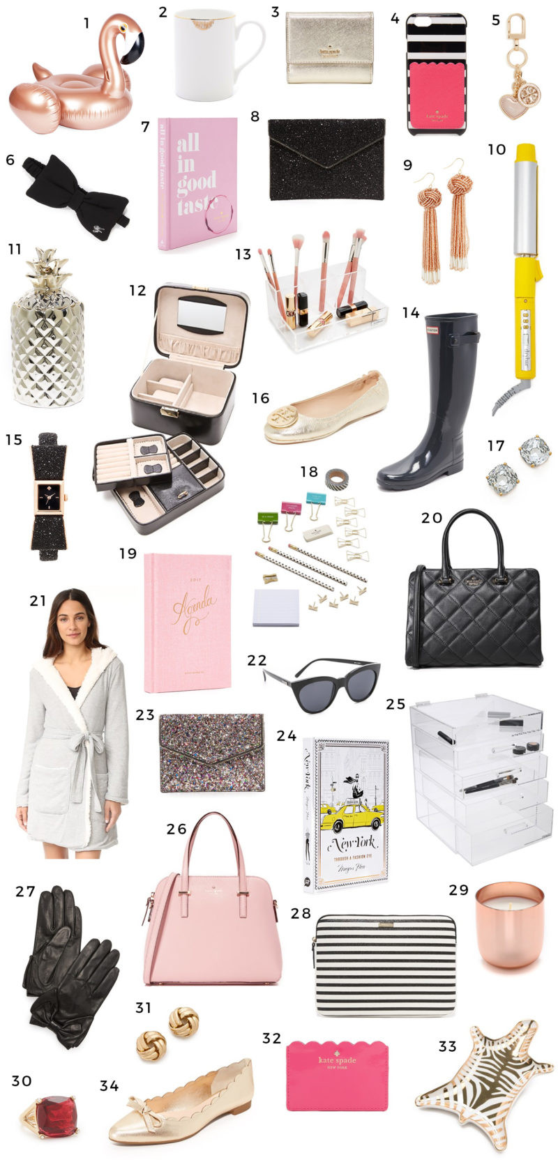 Holiday Gift Ideas For Woman  Christmas Gift Ideas for Women Girly Girls