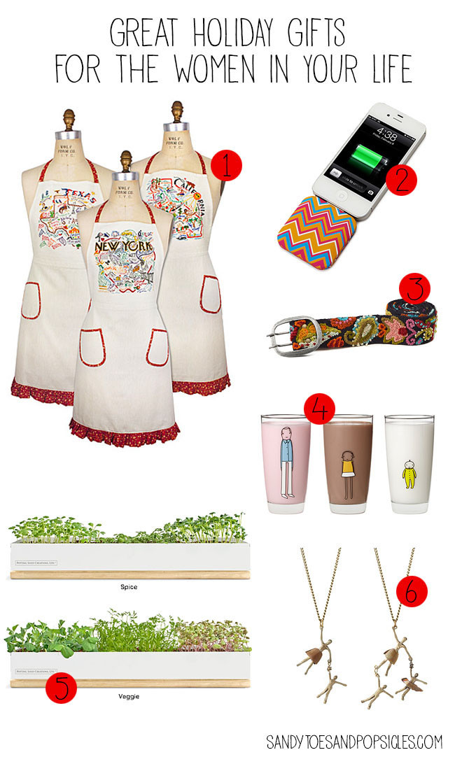 Holiday Gift Ideas For Woman  Gift Ideas Archives Popsicle Blog