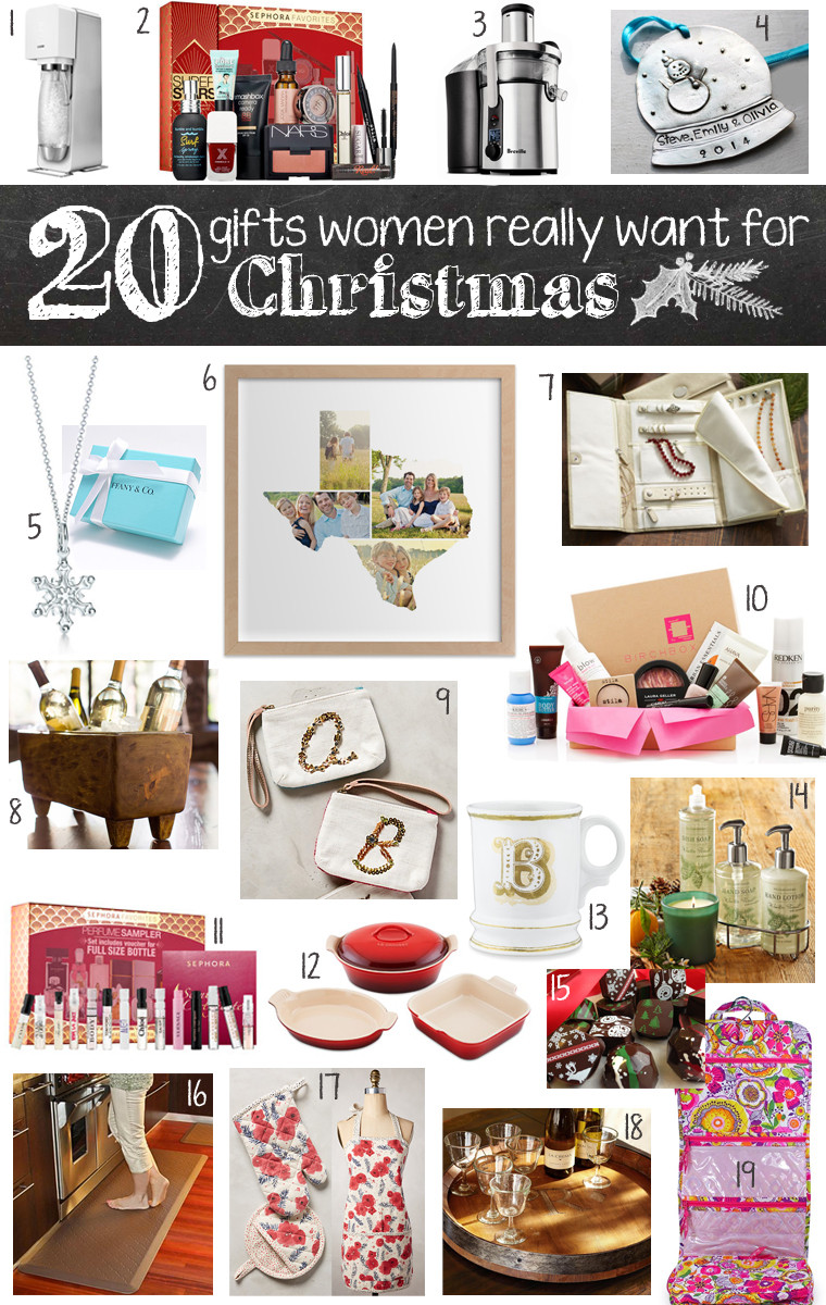Holiday Gift Ideas For Woman  20 Gifts Women Really Want for Christmas