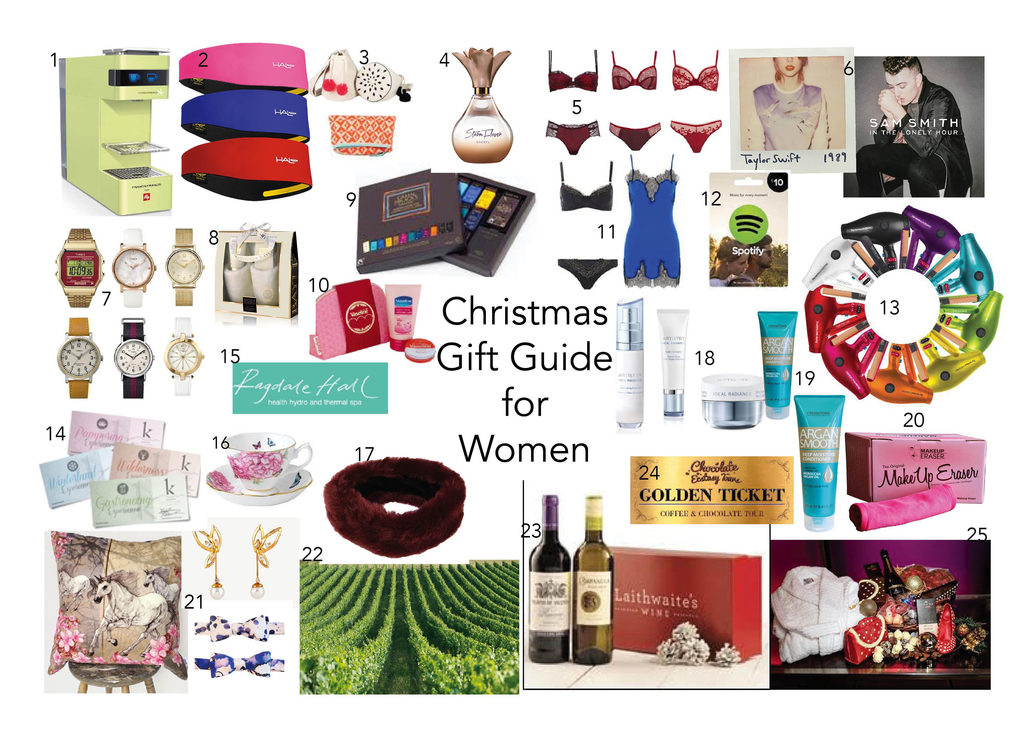 Holiday Gift Ideas For Woman  Christmas Gift Guide for men women kids and even pets