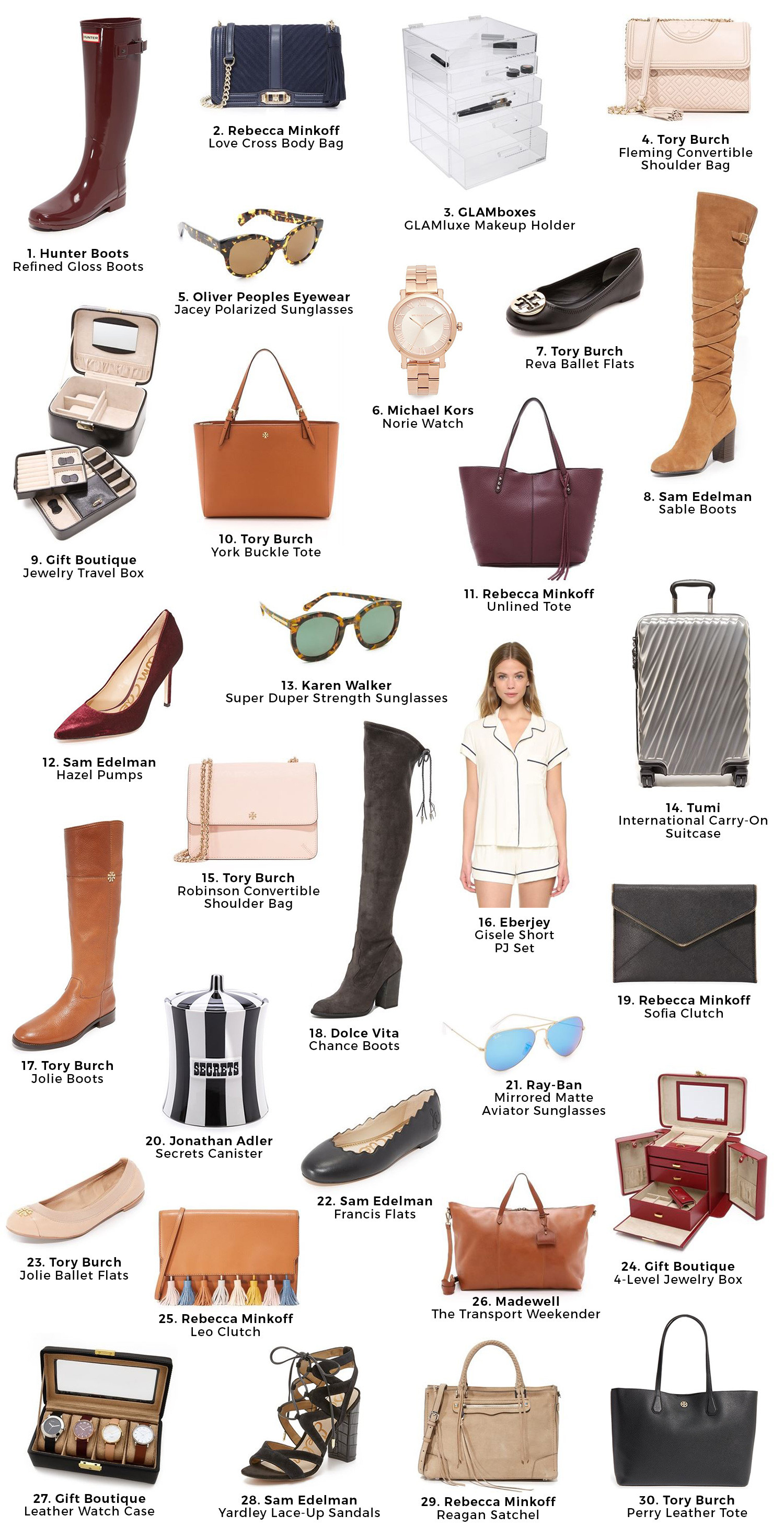 Holiday Gift Ideas For Woman  Christmas Gift Guide