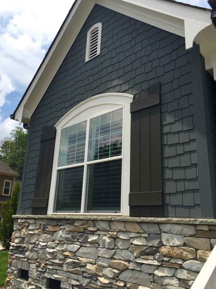 Best ideas about Home Depot Exterior Paint Colors . Save or Pin Farmhouse exterior paint colors exterior shutter colors Now.
