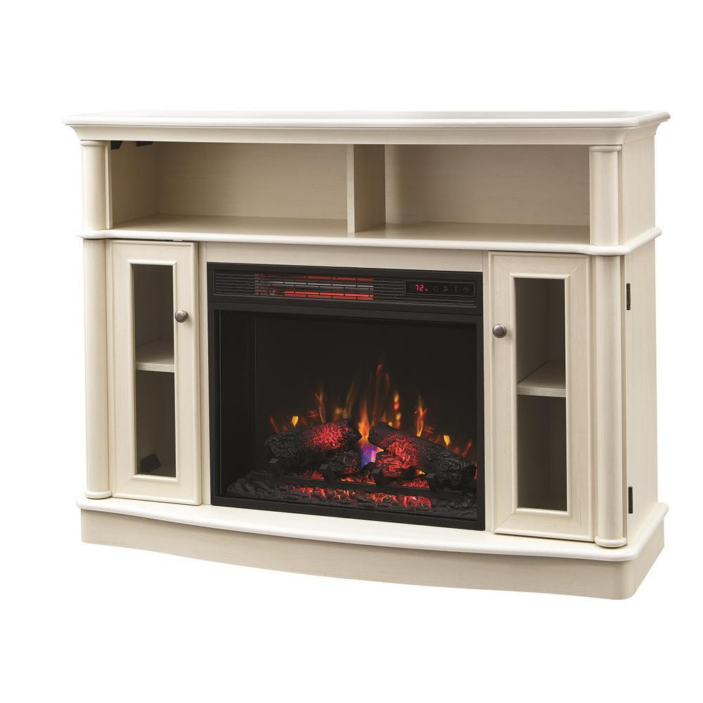 Best ideas about Home Depot Fireplace Tv Stand . Save or Pin Home Decorators Collection Tolleson 48 in TV Stand Now.
