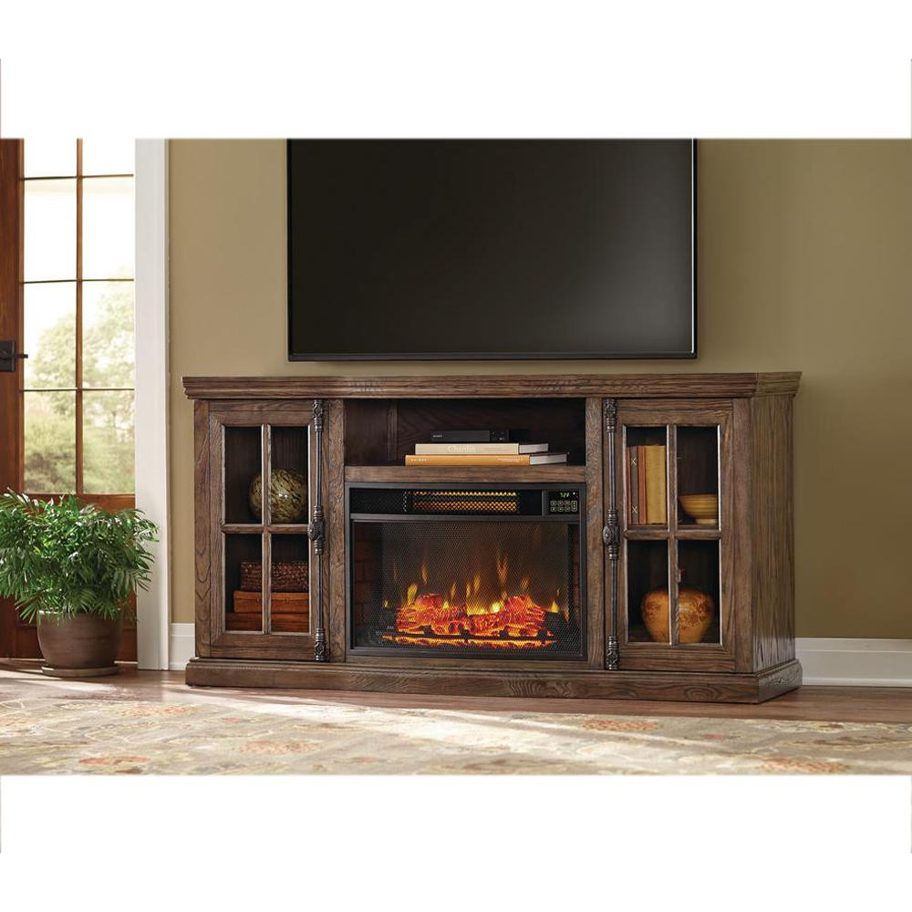 Best ideas about Home Depot Fireplace Tv Stand . Save or Pin Home Decorators Collection Manor Place 67 in TV Stand w Now.