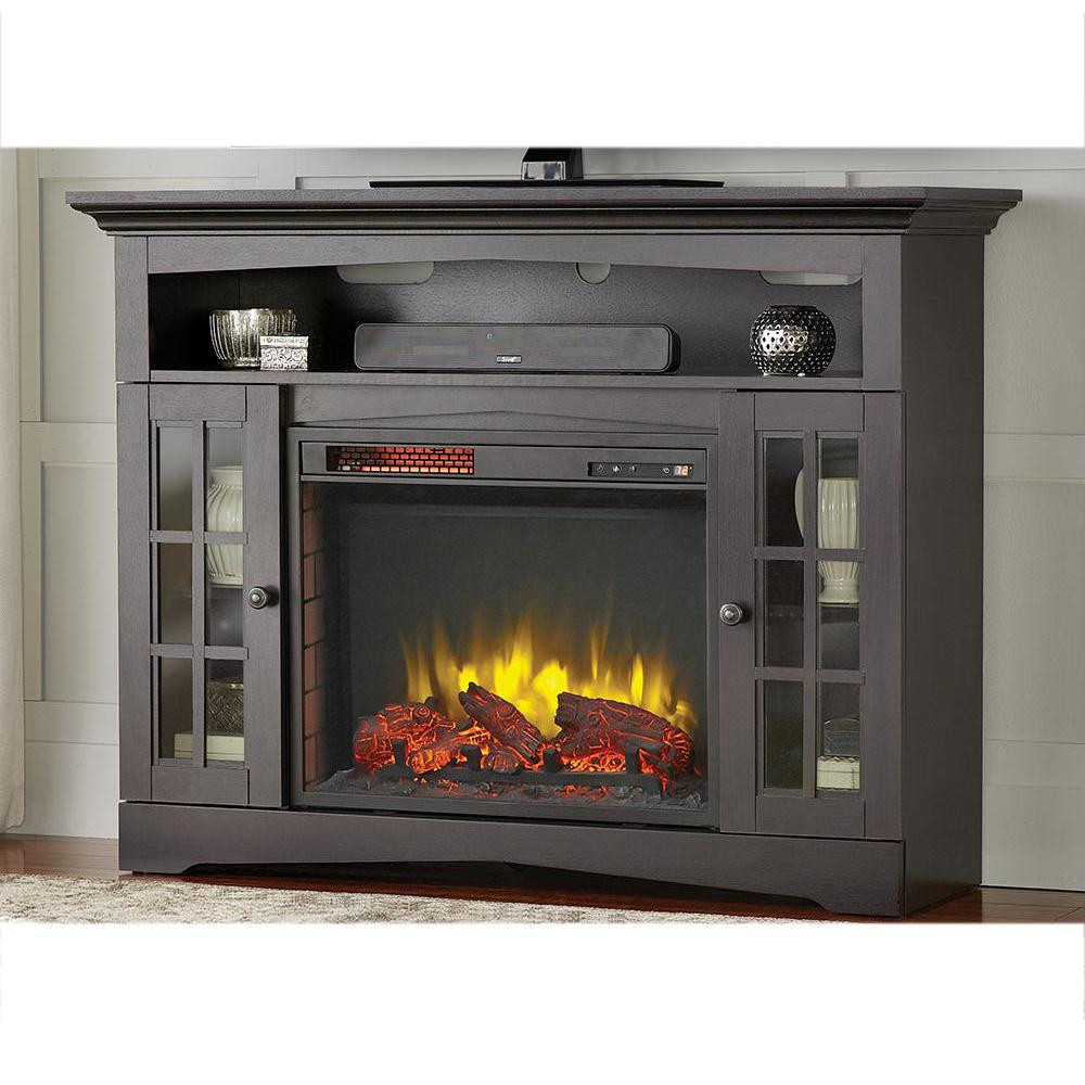 Best ideas about Home Depot Fireplace Tv Stand . Save or Pin Home Decorators Collection Avondale Grove 48 in TV Stand Now.