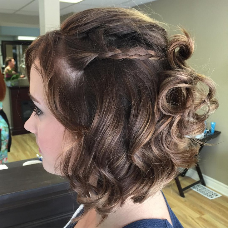 Best ideas about Homecoming Hairstyles For Short Hair . Save or Pin 21 Prom Hairstyles Updos Ideas Designs Now.