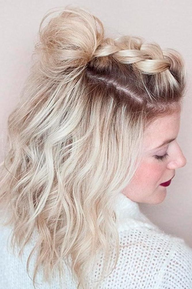 Best ideas about Homecoming Hairstyles For Short Hair . Save or Pin 15 Ideas of Cute Short Hairstyles For Home ing Now.
