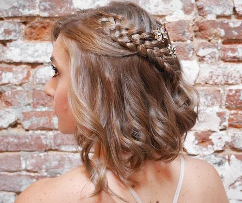 Best ideas about Homecoming Hairstyles For Short Hair . Save or Pin 50 Hottest Prom Hairstyles for Short Hair Now.