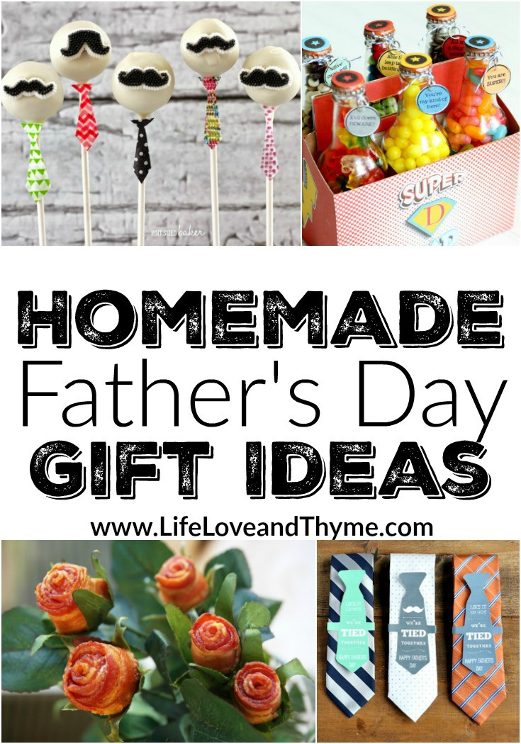 Best ideas about Homemade Fathers Day Gift Ideas . Save or Pin Homemade Father s Day Gift Ideas Life Love and Thyme Now.