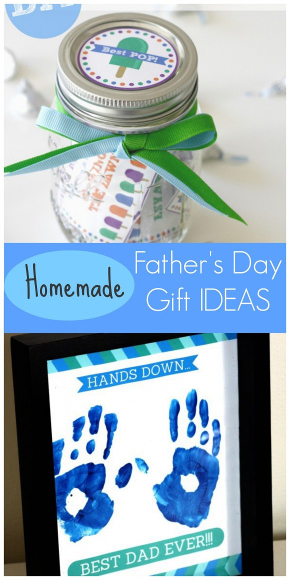 Best ideas about Homemade Fathers Day Gift Ideas . Save or Pin Last Minute Homemade Father s Day Gift Ideas for Kids Now.