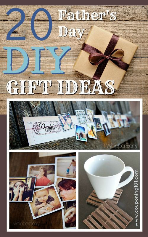 Best ideas about Homemade Fathers Day Gift Ideas . Save or Pin 20 Father s Day DIY Gift Ideas Now.