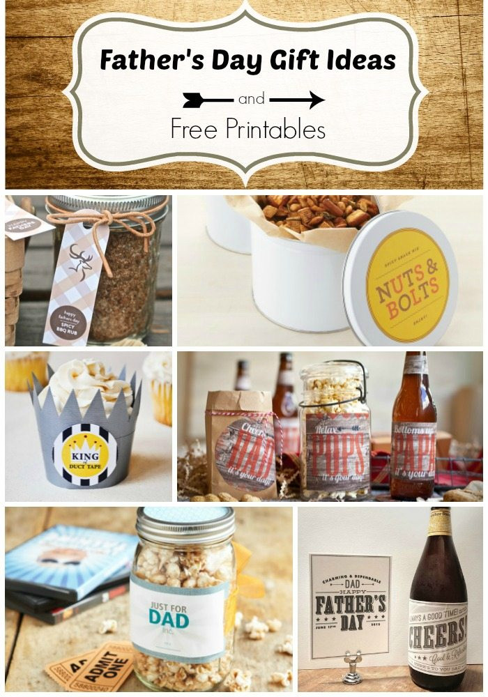 Best ideas about Homemade Fathers Day Gift Ideas . Save or Pin Father s Day Gift Ideas and Free Printables Taryn Whiteaker Now.