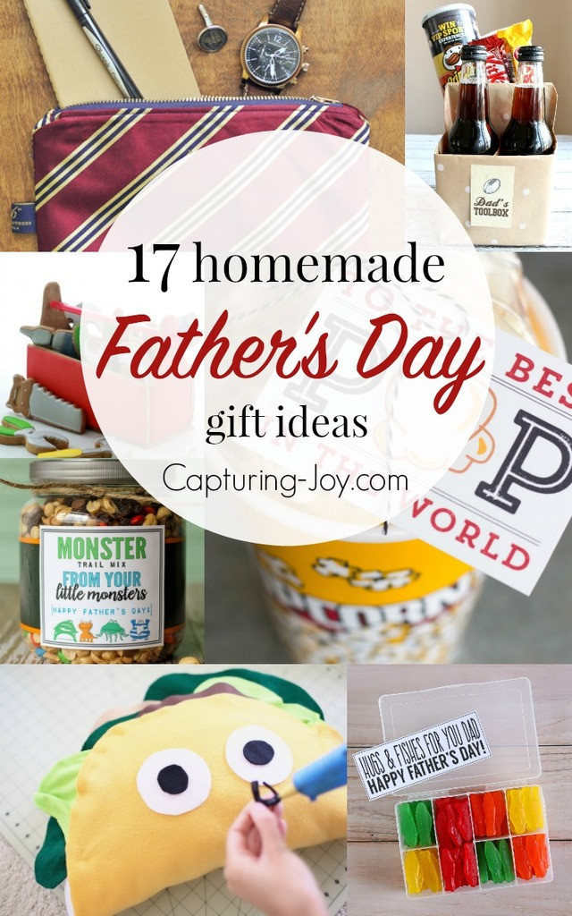Best ideas about Homemade Fathers Day Gift Ideas . Save or Pin 17 Homemade Father s Day Gifts Capturing Joy with Now.