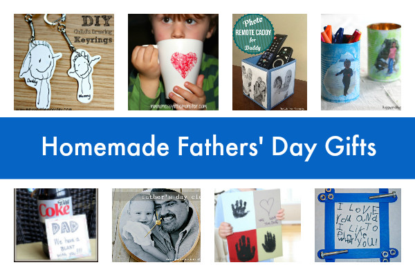 Best ideas about Homemade Fathers Day Gift Ideas . Save or Pin 18 homemade Father's Day crafts and ts Now.