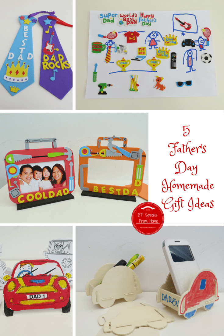Best ideas about Homemade Fathers Day Gift Ideas . Save or Pin 5 Father's Day Homemade Gift Ideas ET Speaks From Home Now.