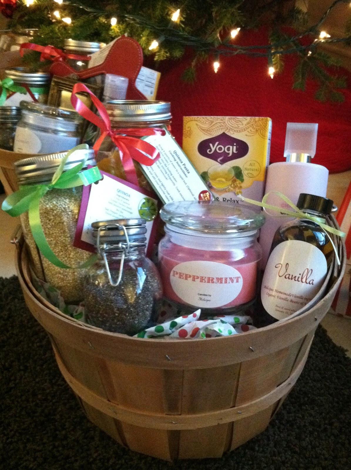 Homemade Gift Basket Ideas  melicipes Healthy & Homemade Gift Baskets