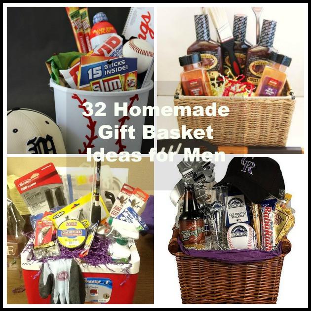 Homemade Gift Basket Ideas  32 Homemade Gift Basket Ideas for Men