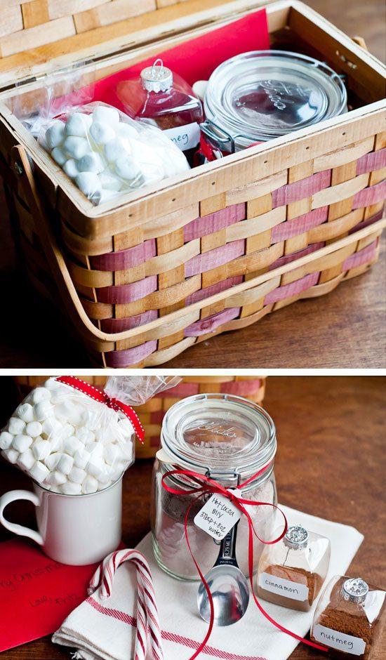 Homemade Gift Basket Ideas  44 DIY Gift Basket Ideas for Christmas