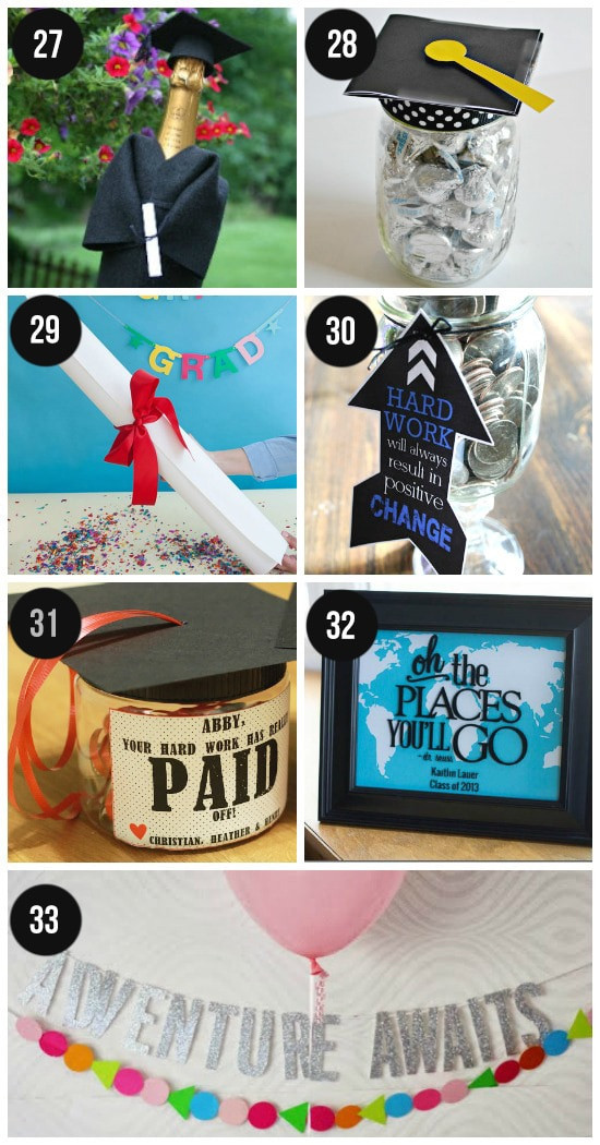 Best ideas about Homemade Graduation Gift Ideas . Save or Pin Graduation Ideas for All Ages From The Dating Divas Now.