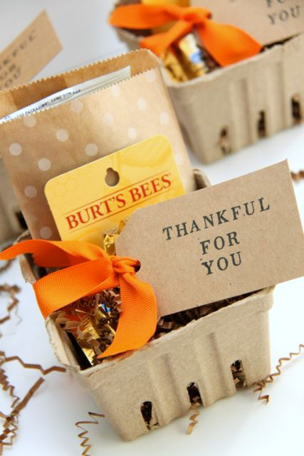 Homemade Thank You Gift Basket Ideas  Fall Themed Thank You Gift Idea Smashed Peas & Carrots