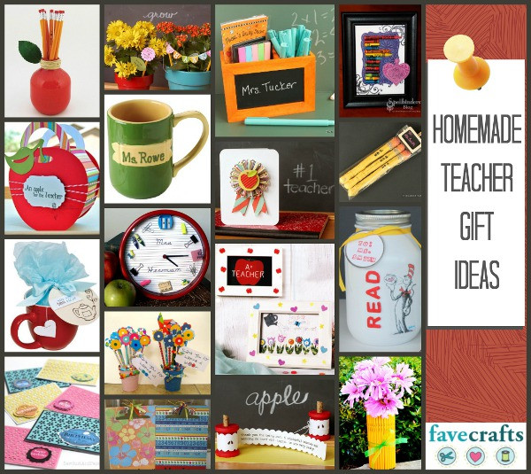 Best ideas about Homemade Thank You Gift Ideas . Save or Pin Thank Your Teachers 25 Homemade Teacher Gift Ideas Now.