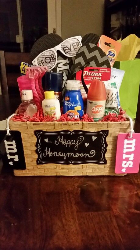 Best ideas about Honeymoon Gift Basket Ideas . Save or Pin Honeymoon t basket ts Pinterest Now.