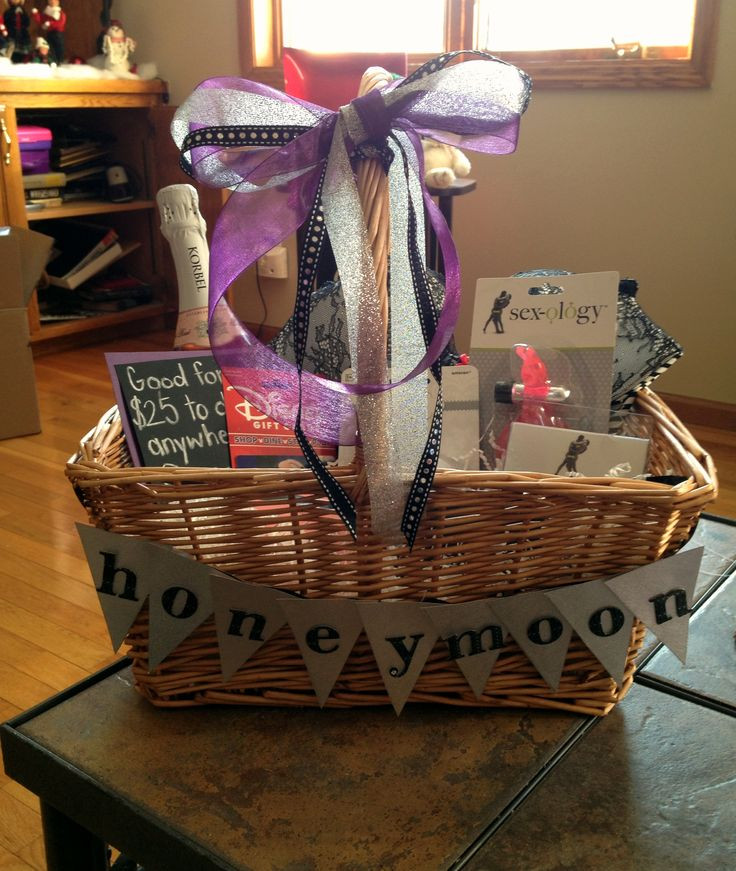 Best ideas about Honeymoon Gift Basket Ideas . Save or Pin Best 20 Honeymoon t baskets ideas on Pinterest Now.
