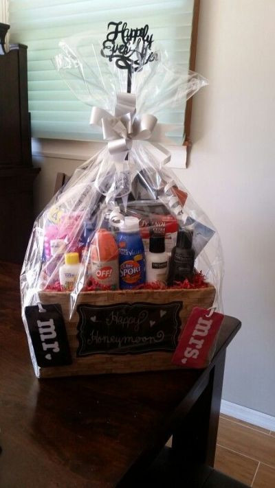 Best ideas about Honeymoon Gift Basket Ideas . Save or Pin Bridal Shower Gift Ideas Now.