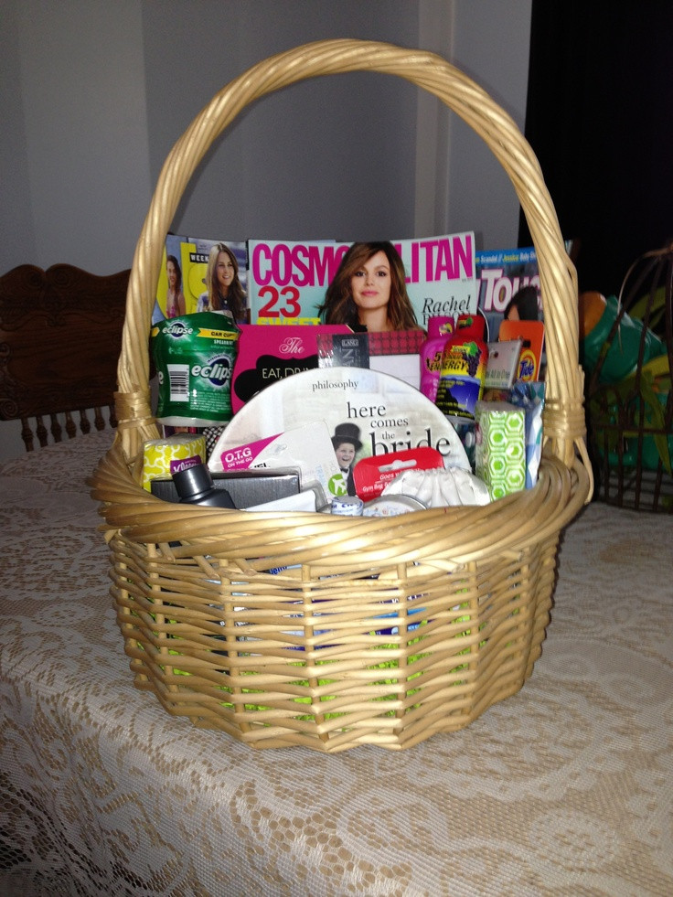 Best ideas about Honeymoon Gift Basket Ideas . Save or Pin Honeymoon t basket I made for my BFF Now.