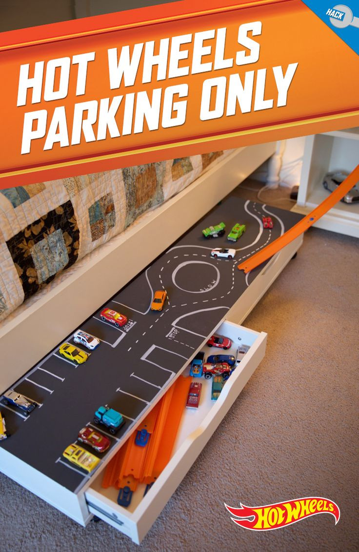 Best ideas about Hot Wheels Storage Ideas . Save or Pin Park all their Hot Wheels in one place with this DIY under Now.