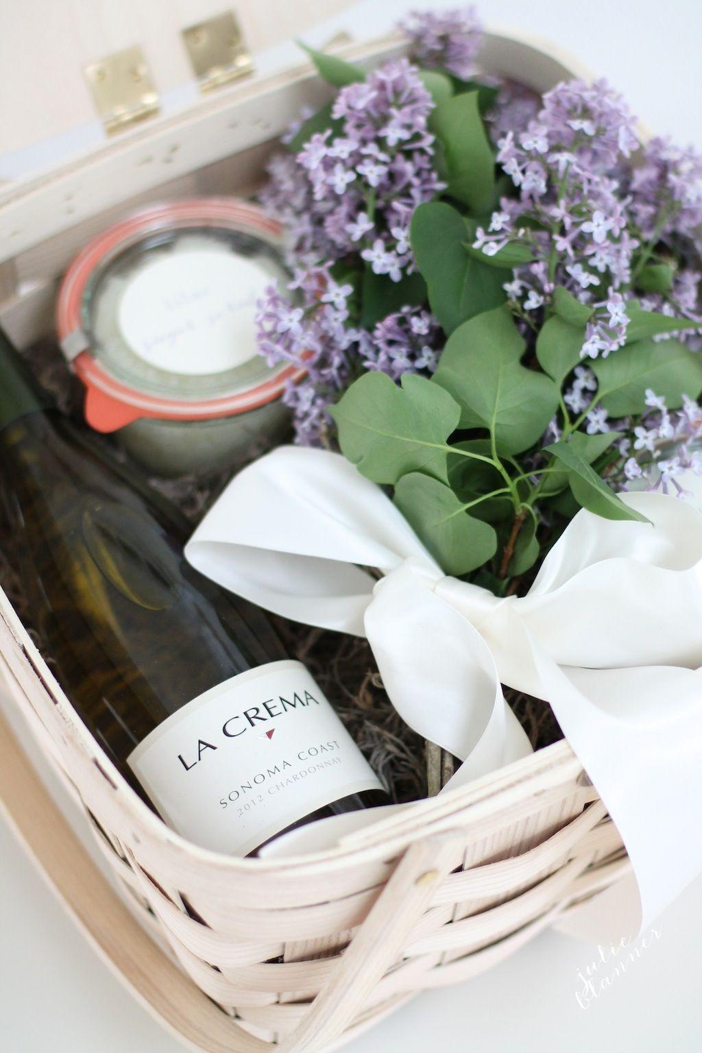 Houseguest Thank You Gift Ideas  Hostess Gift Basket