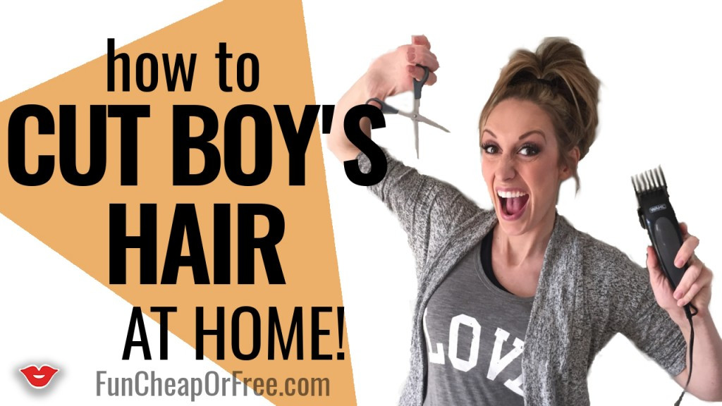 Best ideas about How To Cut A Toddler Boys Hair . Save or Pin How to Cut Boys Hair in under 15 min FunCheapOrFree Now.