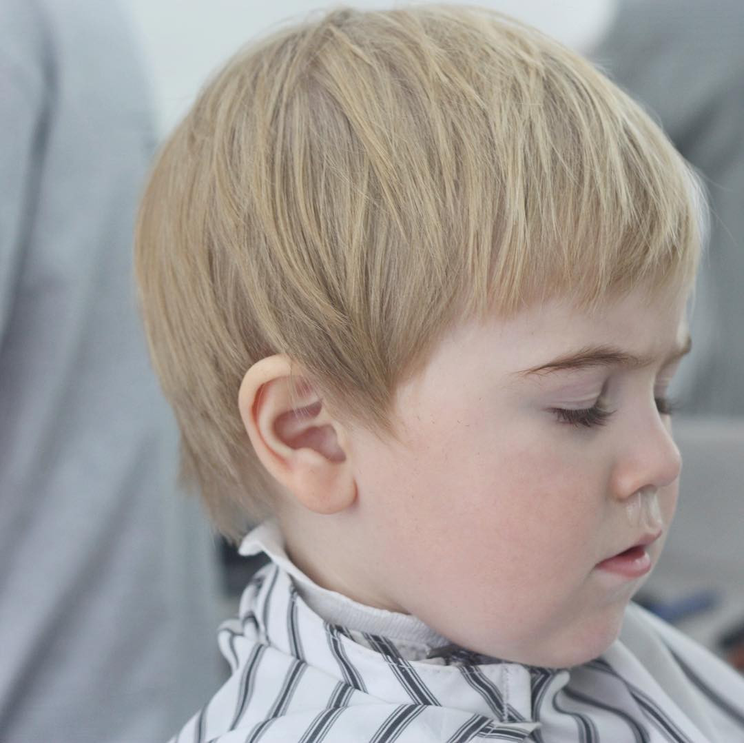 Best ideas about How To Cut A Toddler Boys Hair . Save or Pin Toddler Boy Haircuts Now.