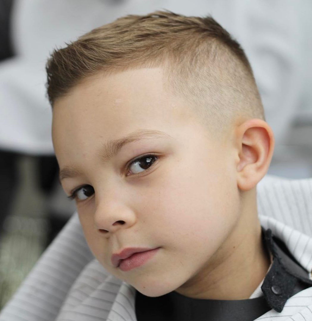 Best ideas about How To Cut A Toddler Boys Hair . Save or Pin Boys Fade Haircuts Now.
