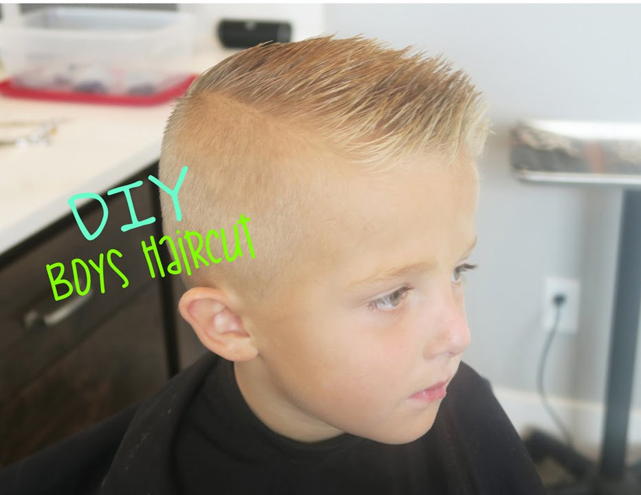 Best ideas about How To Cut A Toddler Boys Hair . Save or Pin DIY BOYS HAIRCUT Now.
