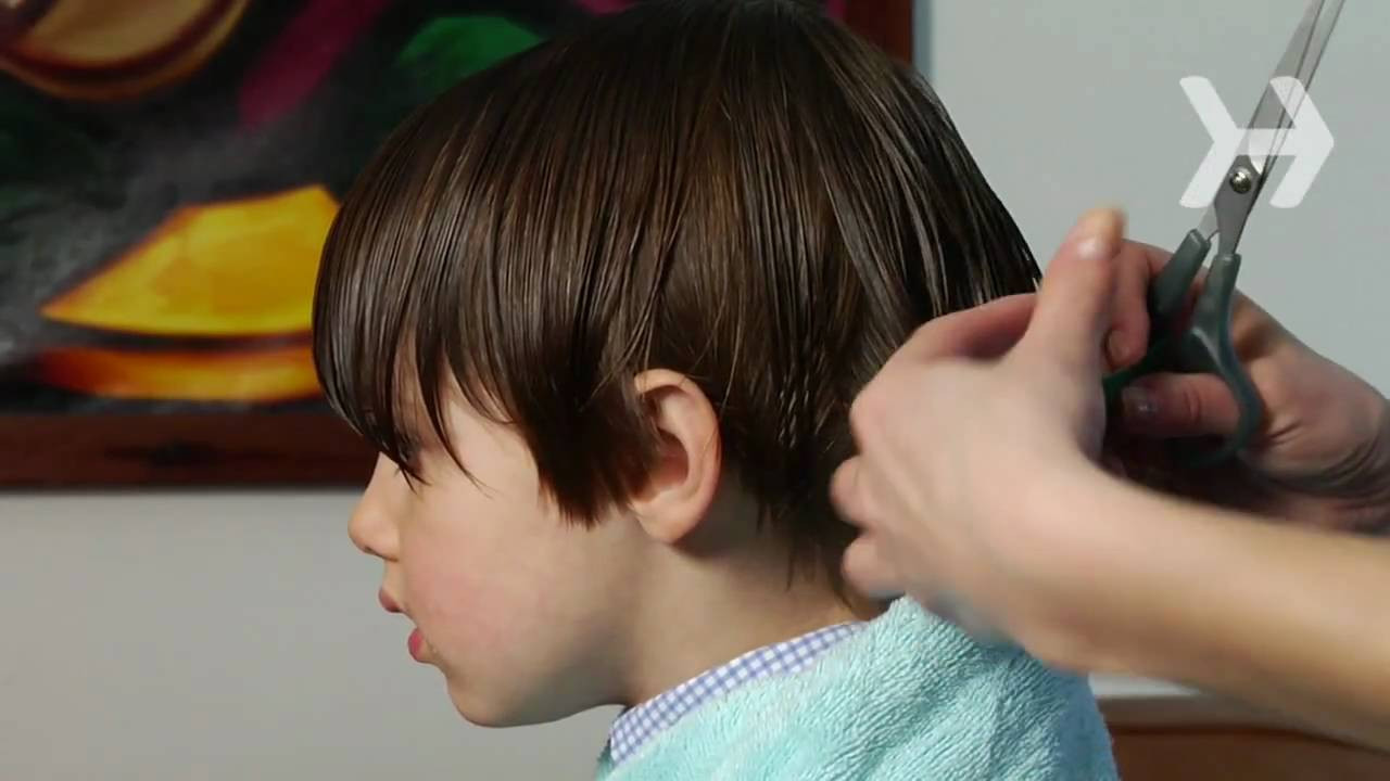 Best ideas about How To Cut A Toddler Boys Hair . Save or Pin How to Cut a Boy's Hair Now.