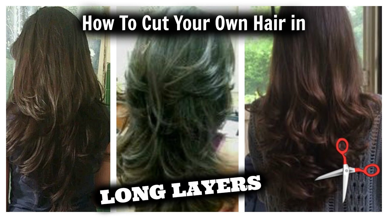 Best ideas about How To Cut Layers In Long Hair Yourself . Save or Pin Easy Layered Haircuts for Long Hair to do at Home Women Now.