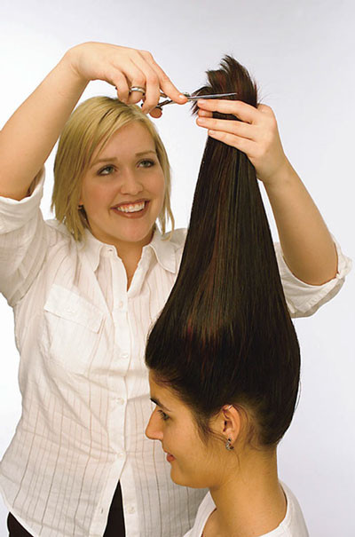 Best ideas about How To Cut Layers In Long Hair Yourself . Save or Pin Cutting Hair with Lightning Speed dummies Now.