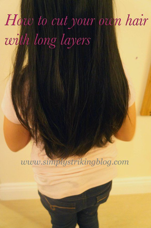 Best ideas about How To Cut Layers In Long Hair Yourself . Save or Pin Cut Your Own Layered Hair Style Simply Striking Now.